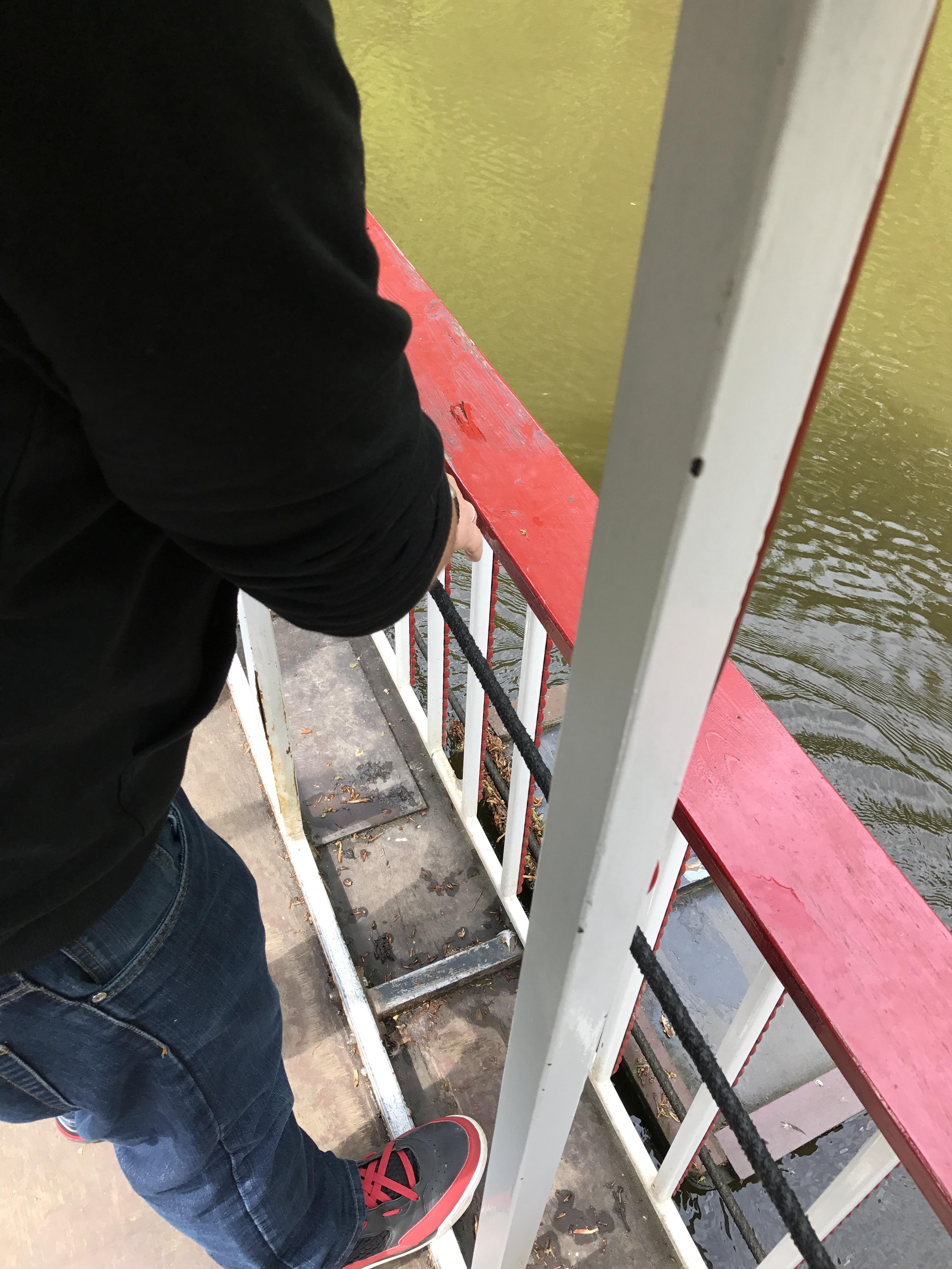 Boot fahren im Ittertal